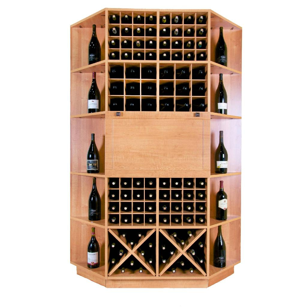 106 Bottle Wine Rack Table Deluxe Wine Racks