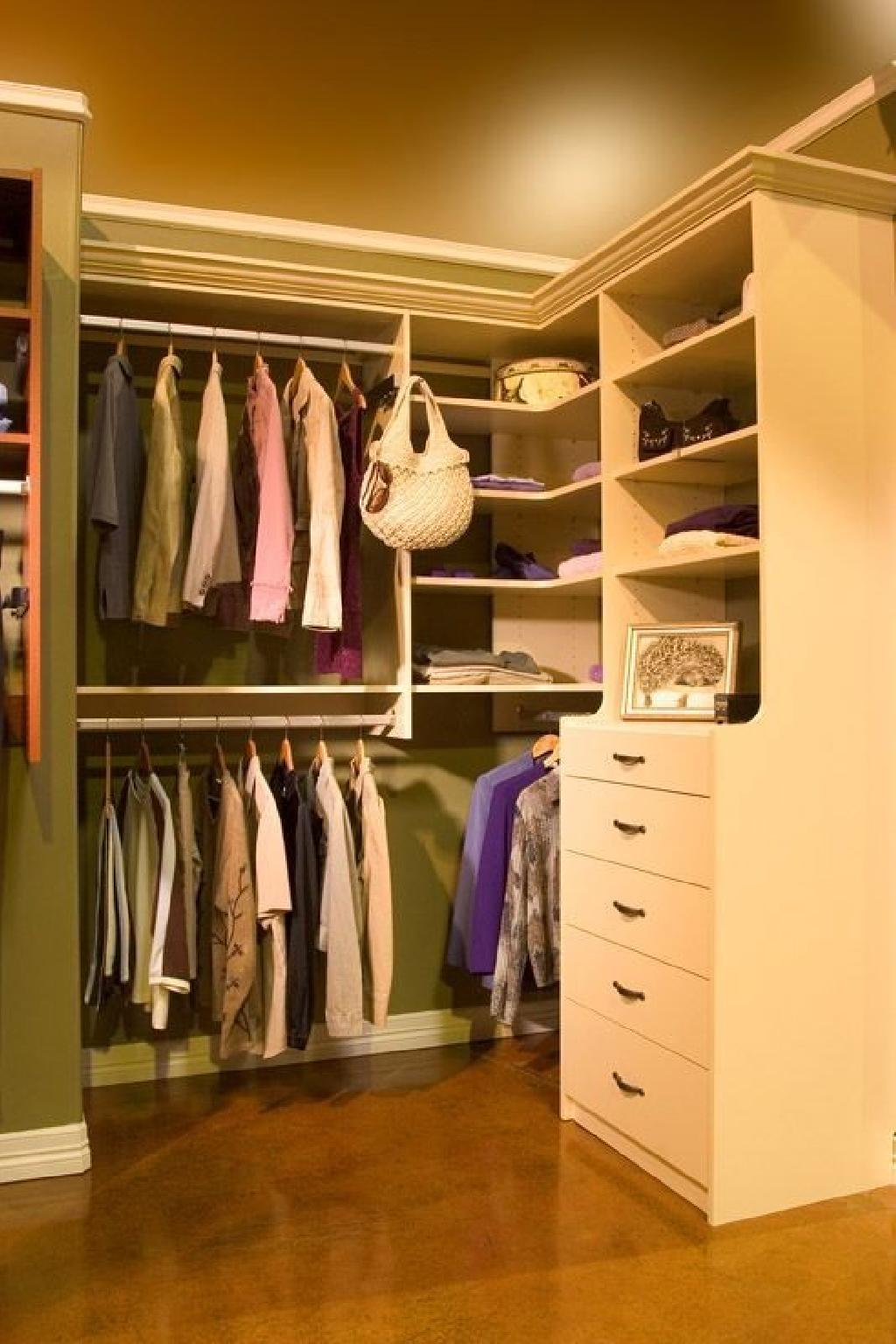 Closets To Go Almond Walk In Closet Organizer Custom Closet