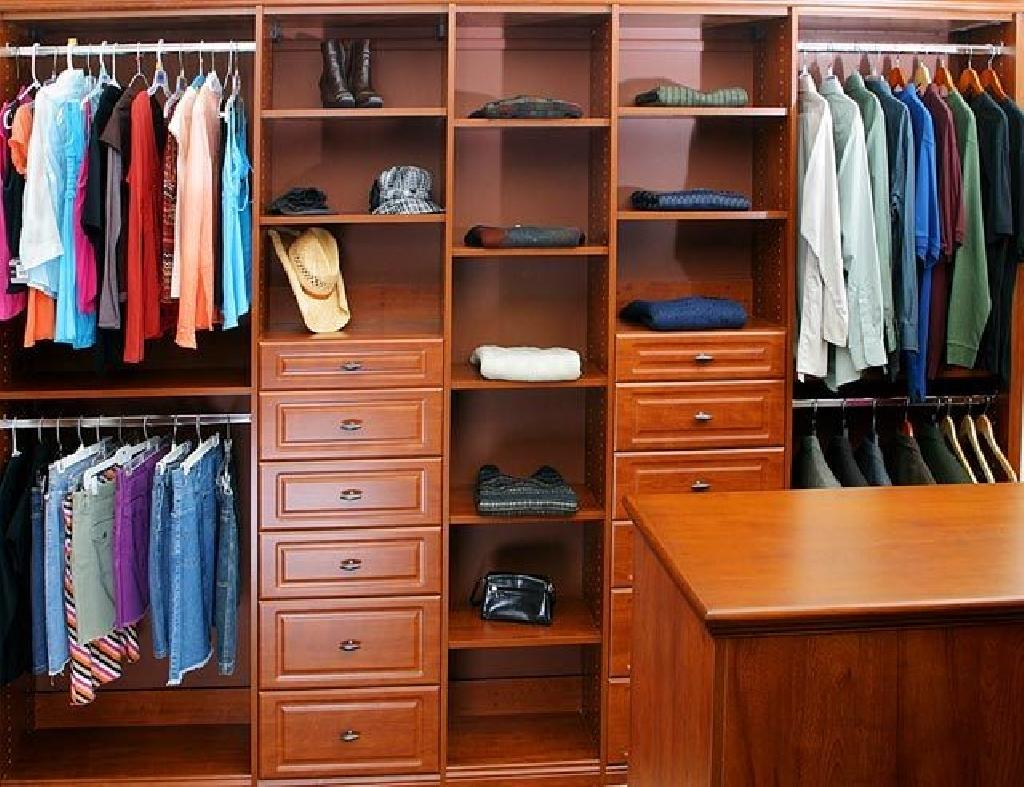 Attractive Closets To Go His U0026 Her Walk In Closet Organizer