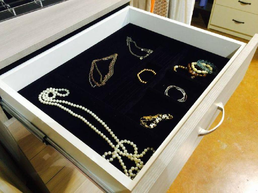 October Company Jewelry Tray Drawer Closet Organizer Accessories