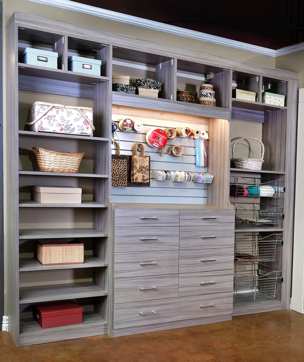 Closets To Go Reach In Craft Closet Organizer Laundry And