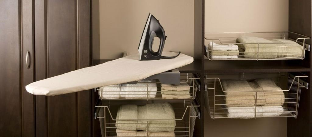 Pres Fix Swivel Ironing Board