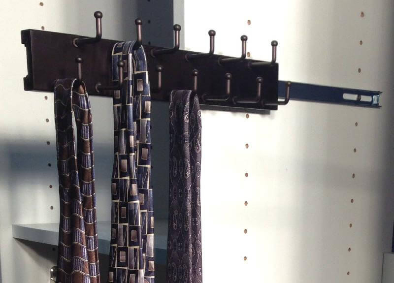 Capella Oil Rubbed Bronze Closet Tie Rack