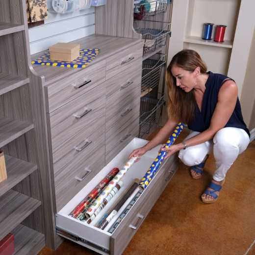 ... Closets To Go Reach In Craft Closet Organizers