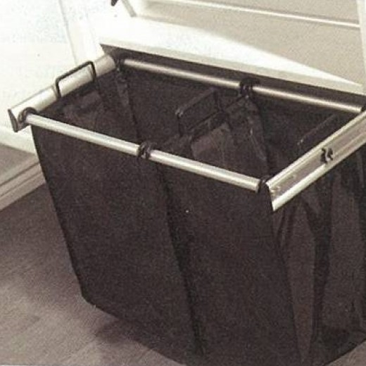 Hafele Pull Out Hamper With Nylon Removable Bag(s)