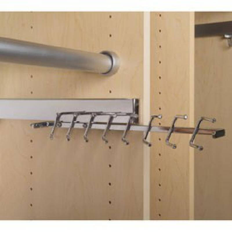 Sidelines Premier Series Tie Rack Chrome