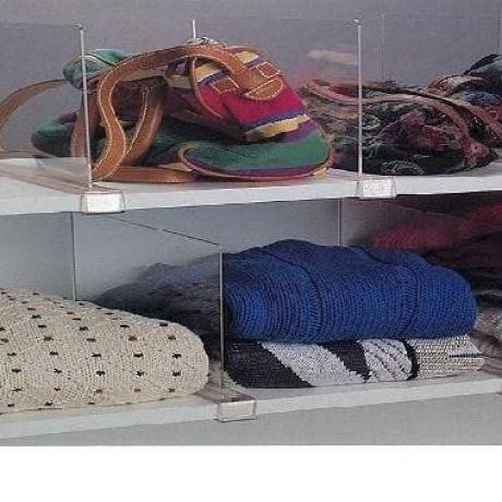 Closet Organizer Acrylic Dividers