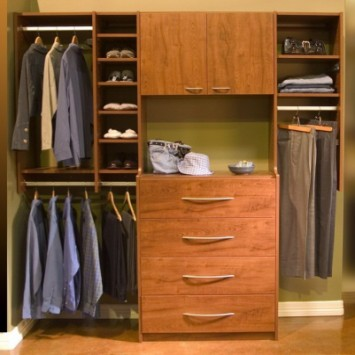 Closets to go Guest Reach In Closet Organizers