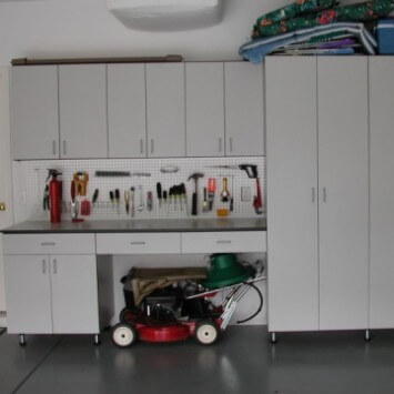 closets to go simple garage organizer