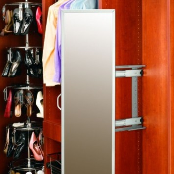 Closet Organizers Pullout Mirrors
