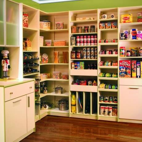 Closet pantry shelving systems home design for Best pantry shelving system
