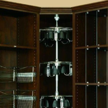 5 Shelf Mens Lazy Shoe-Zen with Shaft Closet