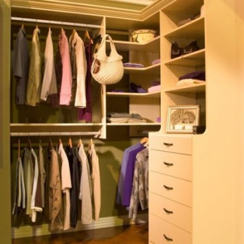 Closets to go small walk in closet organizer