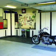 Closets to go deluxe garage organizer