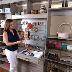 Closets to go reach in craft closet organizers