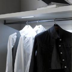 LED Cabinetry Lighting Options for Closet Organizers